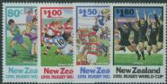 NZ SG1623-6 World Cup Rugby Championship set of 4